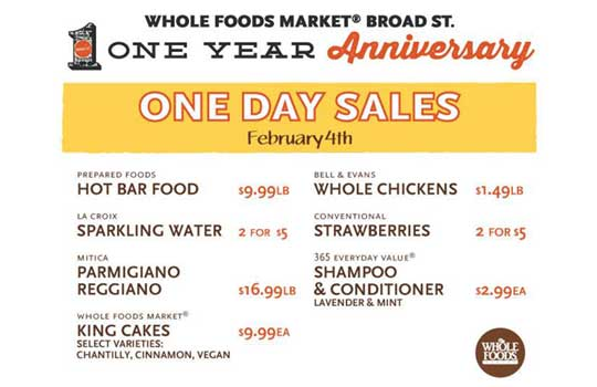 Whole Foods one year anniversary | IntheNOLA.com