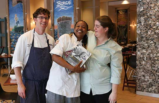 Chef John Besh's 'Chefs Move Scholarship' recipients | IntheNOLA.com