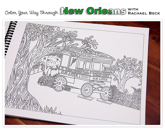 Local Mother\'s Day gifts: \'Color Your Way Through New Orleans,\' a ...