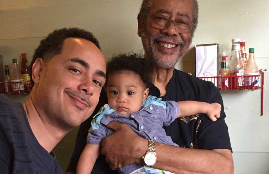 NOLA daddies celebrate Father's Day: DJ Raj Smoove and 'Baby Smoove'