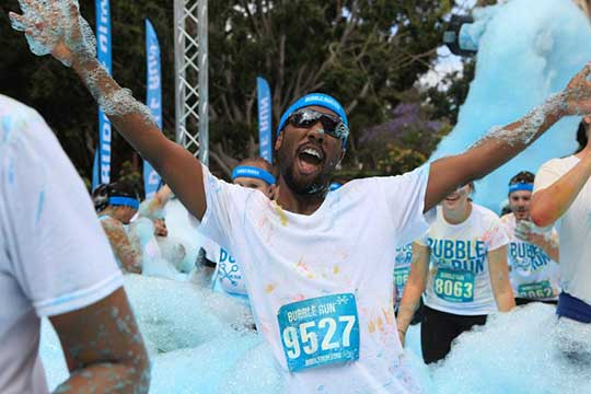Running gets cleaner at the 'Bubble Run' benefiting the Plaquemines Animal Welfare Society, October 18 | IntheNOLA.com