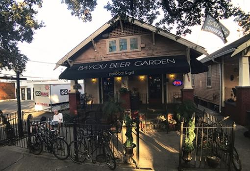 What's your fave: wine or beer? Have both at Bayou Beer Garden and Bayou Wine Garden in Mid City