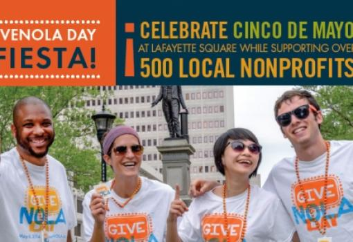 The Greater New Orleans Foundation hosts 24-hour online fundraiser with 'GiveNOLA Day,' May 5