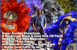 Tipitina's hosts Super Sunday Showdown and 6th annual Black and Gold Kickoff Party in support of NOMAF Bo Dollis, Sr. Memorial Fund, Sept. 19