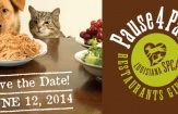 Dine-out at local restaurants June 12 to benefit the animals of the Louisiana SPCA for 'Pause 4 Paws'