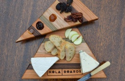 Small Business Holiday Shopping: NOLA BOARDS, local 'handcrafted cutting boards'