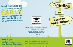 Young Leadership Council's 'College Admissions Project' guides low income, first generation college students through admissions process