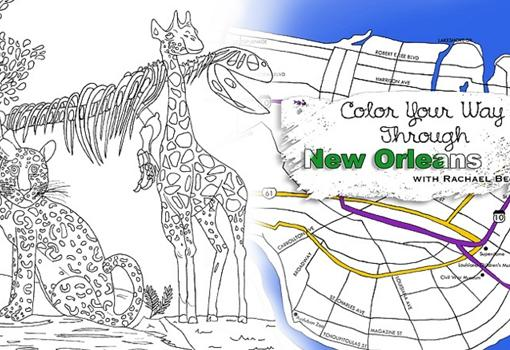 Local Mother's Day gifts: 'Color Your Way Through New Orleans,' a coloring book of New Orleans for adults