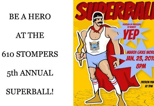 610 Stompers' annual Sweet 610 Debutante Ball, 'The Superball'
