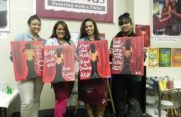 Think you're not 'artistically inclined'? Painting with a Twist brings out everyone's creative side