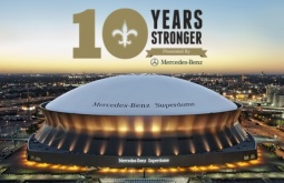 Mercedes-Benz's '10 Years Stronger' program highlights New Orleans' 'strength and competitive spirit'