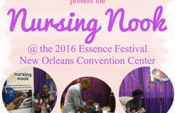 Breastfeeding at Essence Fest? Join NOLA's Nurse Nikki at the 'Nursing Nook' in the Convention Center.