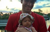 First time NOLA daddies celebrate Father's Day: Quintin Good of Purple Monkey Design