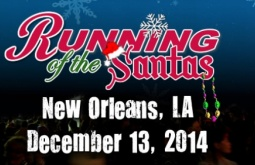'Running of the Santas' spreads holiday joy while aiding military families, December 13
