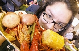 Springtime IntheNOLA with Champ Superstar: Crawfish, cold beer, and Jazz Fest