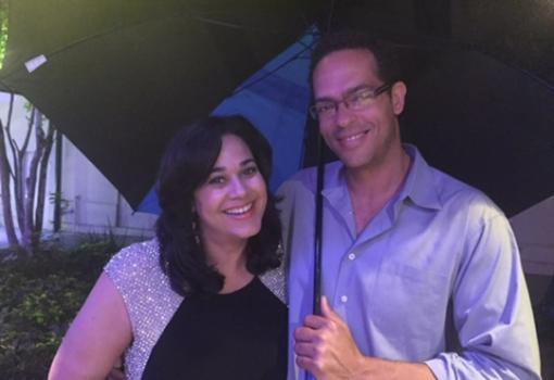 Love IntheNOLA: Camille Whitworth of WDSU TV and Daniel Victory of Victory and New Orleans Drink Lab