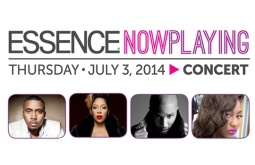 Nas, Trey Songz, K. Michelle, Trey Songz, Jazmine Sullivan at Essence Fest's 'NowPlaying' Concert, Thursday July 3