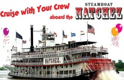 Family fun day cruise aboard the Steamboat NATCHEZ celebrates the start of summer