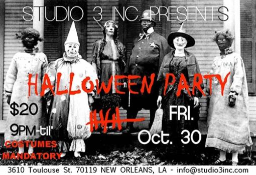 Dirty Coast and Studio 3 host their infamous Halloween Party Friday, October 24